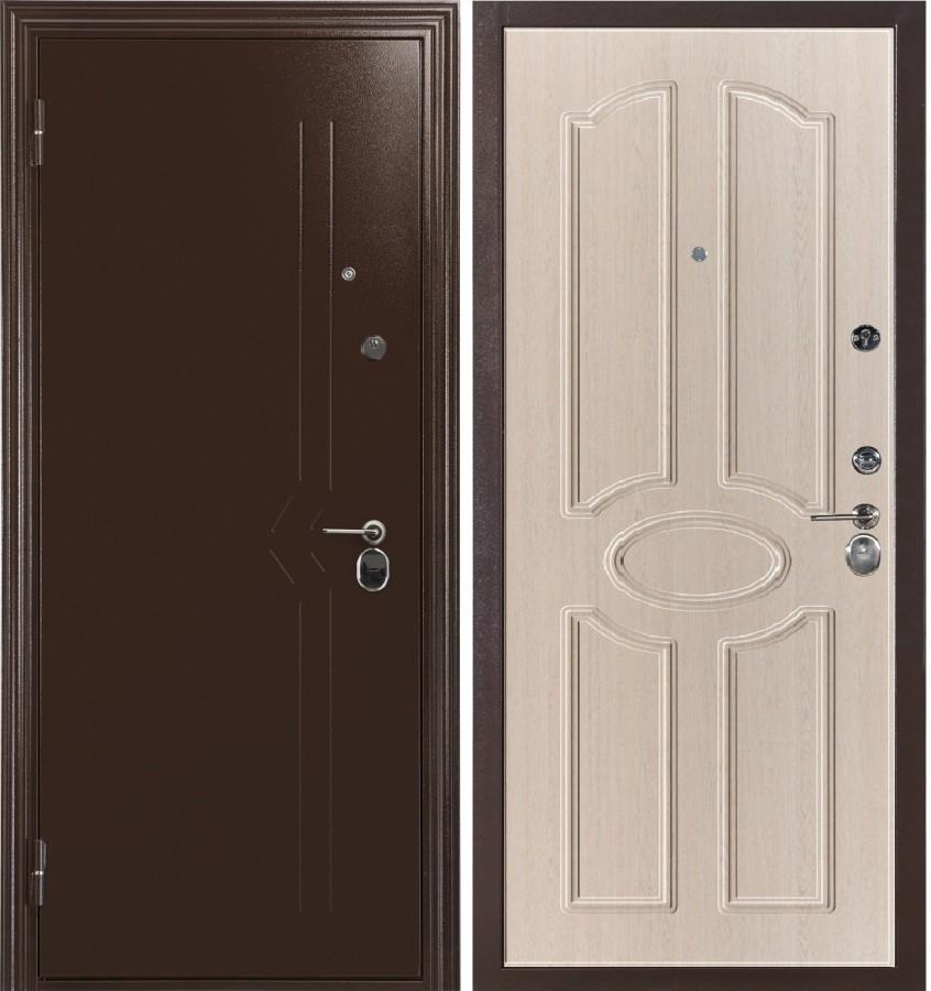 стальные двери эконом класса в юао