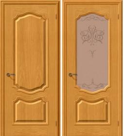 Дверь Премьера дуб натур (Т-03)
