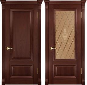 Дверь Фараон 1 Lux красное дерево