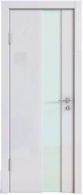 Дверь Модерн ДО-504 белый глянец (стекло белое)