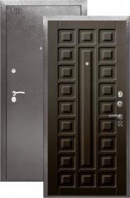 Дверь Aргус 2М Сенатор венге тисненый