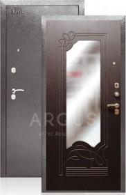 Дверь Aргус ДА-6 венге с зеркалом