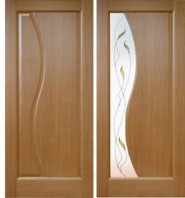 Дверь Руссо орех (Ф-11)