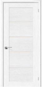 Дверь Токио-5 белый дуб (Д-21)