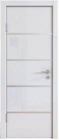 Дверь Модерн ДГ-505 белый глянец