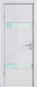 Дверь Модерн ДО-502 белый глянец (стекло белое)