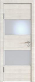 Дверь Модерн ДО-508 ива светлая (стекло белое)