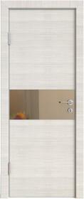 Дверь Модерн ДО-501 ива светлая (зеркало бронза)