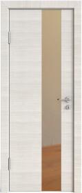 Дверь Модерн ДО-504 ива светлая (зеркало бронза)