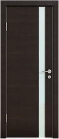 Дверь Модерн ДО-507 венге горизонтальный (стекло белое)