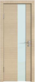 Дверь Модерн ДО-504 неаполь (стекло белое)