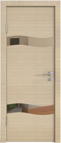 Дверь Модерн ДО-503 неаполь (зеркало бронза)