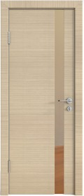 Дверь Модерн ДО-507 неаполь (зеркало бронза)