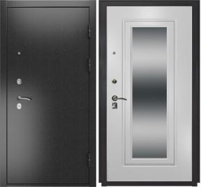 Дверь Luxor 2 белый ПВХ с зеркалом