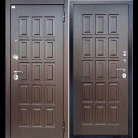 Дверь Aргус ДА-40 МДФ/МДФ венге тисненый