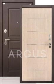 Дверь Aргус ДА-43 МДФ/МДФ капучино