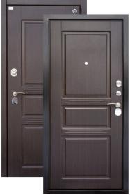 Дверь Aргус ДА-71 МДФ/МДФ венге