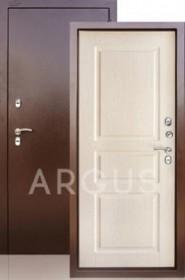 Дверь Aргус Тепло-5 беленый дуб