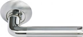 Ручка Morelli 03 SN/CP Белый никель/Хром