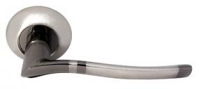 Ручка Morelli 04 SN/BN Белый никель/черный никель