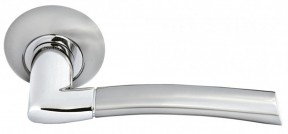 Ручка Morelli 06 SN/CP Белый никель/Хром
