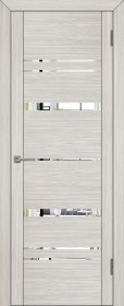 Дверь Uberture 30027 капучино велюр (зеркало)