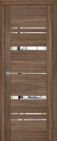 Дверь Uberture 30027 серый велюр (зеркало)