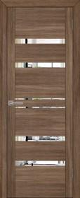 Дверь Uberture 30030 серый велюр (зеркало)
