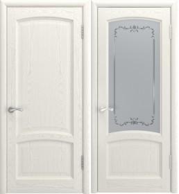 Дверь Клио Lux дуб RAL 9010