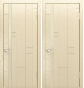Дверь Арт 1 Lux ясень слоновая кость