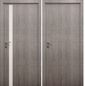 Дверь Minimo 500/501 DB-E Дуб сити