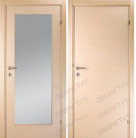 Дверь LINEA 100/101 беленый дуб