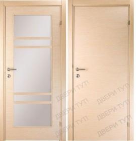 Дверь LINEA 100/405 L беленый дуб