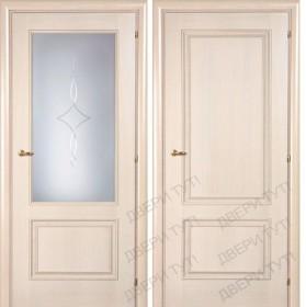 Дверь DOMENICA 520/511 А орех жасмин