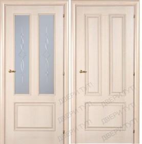 Дверь DOMENICA 530V/512 VА орех жасмин