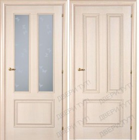 Дверь DOMENICA 530V/512 VB орех жасмин