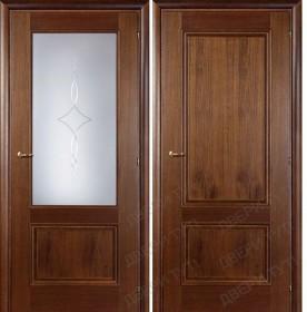 Дверь DOMENICA 520/511 А орех итальянский