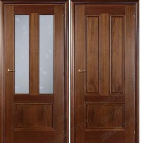 Дверь DOMENICA 530V/512 VB орех итальянский