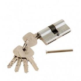 Цилиндр 60*30*30 ключ-ключ Хром