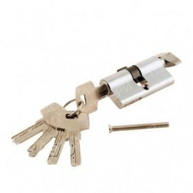 Цилиндр 60*30*30 ключ-фиксатор Хром