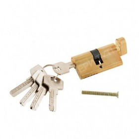 Цилиндр 60*30*30 ключ-фиксатор Золото
