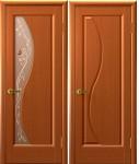 Дверь Флора темный анегри
