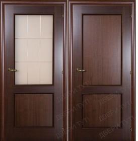 Дверь PRIMO AMORE 220/211 орех махагон