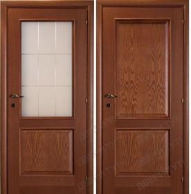 Дверь PRIMO AMORE 120/411 тонированный дуб