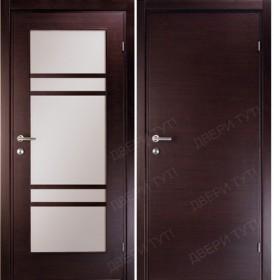 Дверь LINEA 100/405 L венге