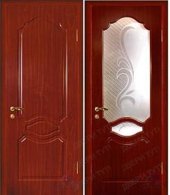 Дверь Венеция итальянский орех