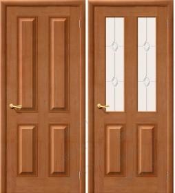 Дверь М 15 светлый лак (Т-05)