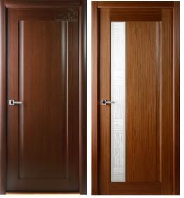 Дверь Ланда орех