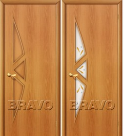 Дверь 15Ф Миланский орех