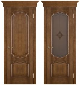 Дверь Премьера каштан (Ромб)